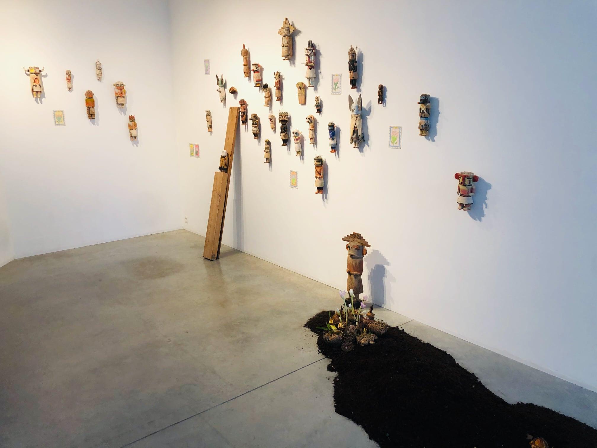 Fleur et Kachina, Thierry Boutemy,